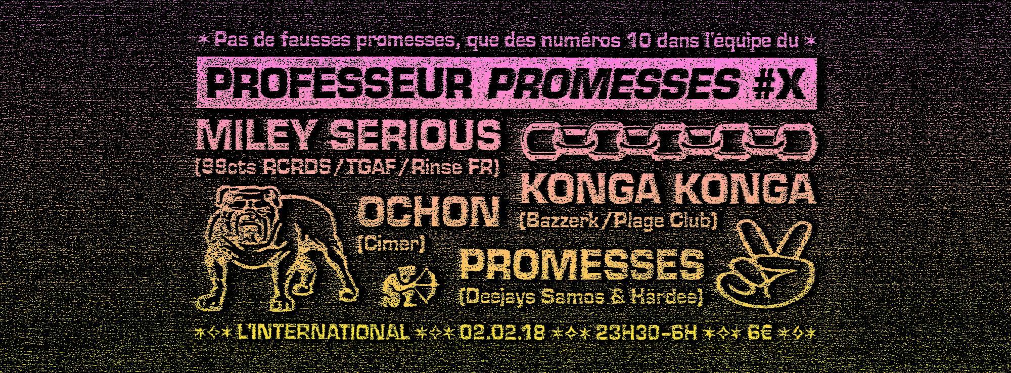 promesses konga konga miley serious couvre x chefs