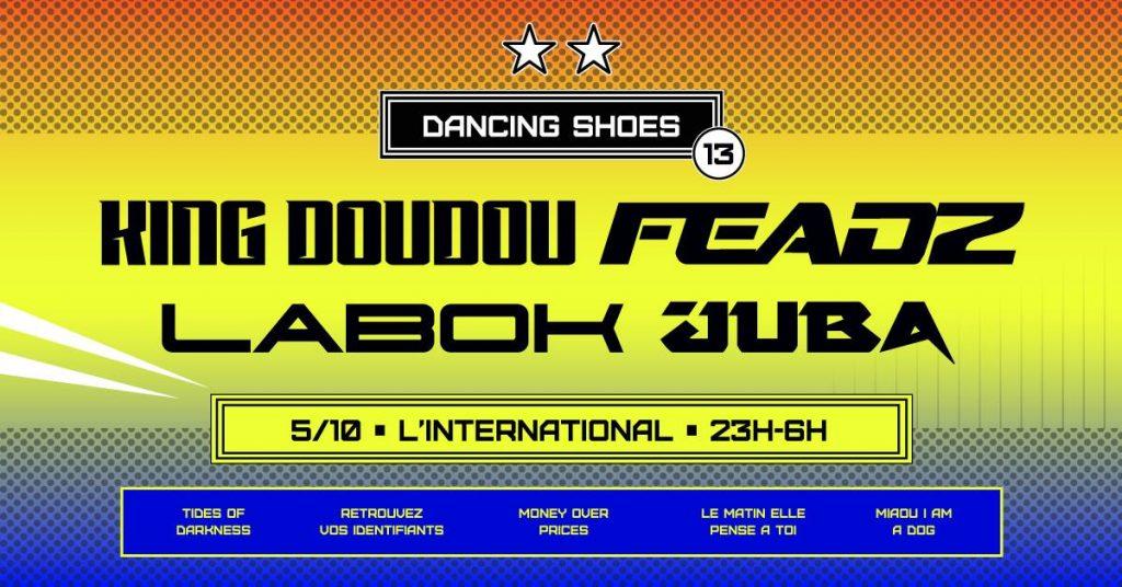 dancing shoes king doudou feadz