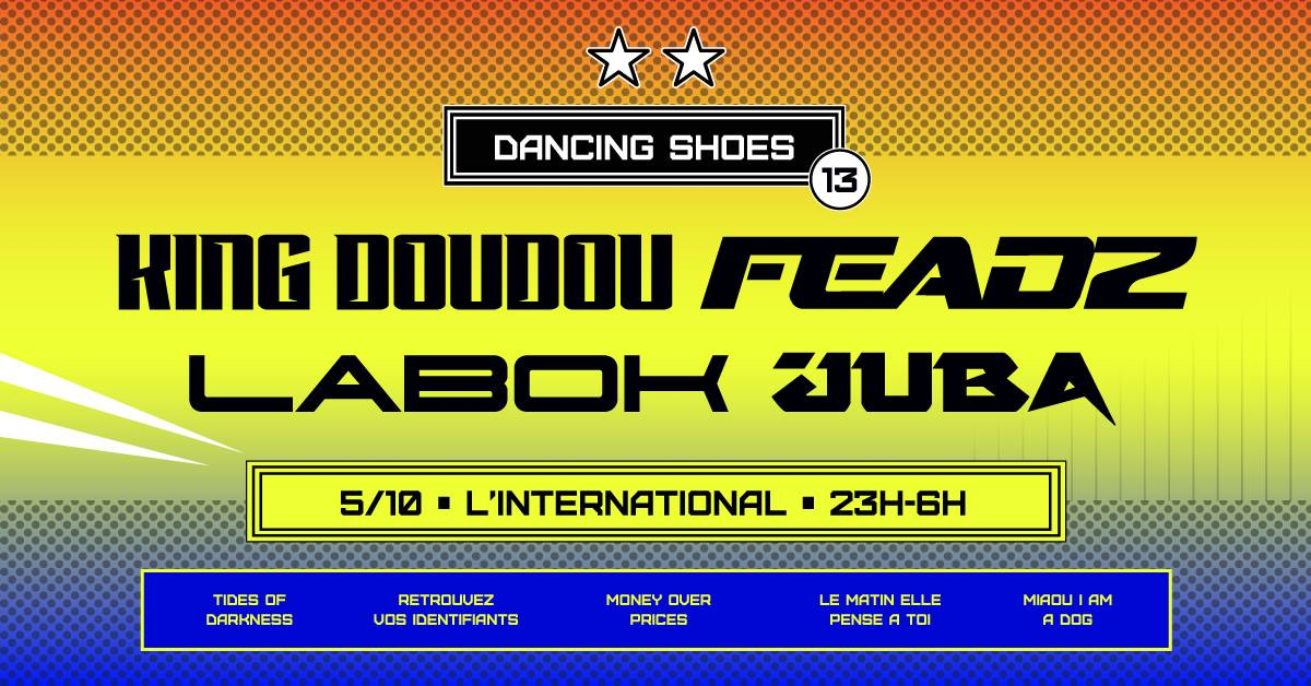 dancing shoes king doudou feadz