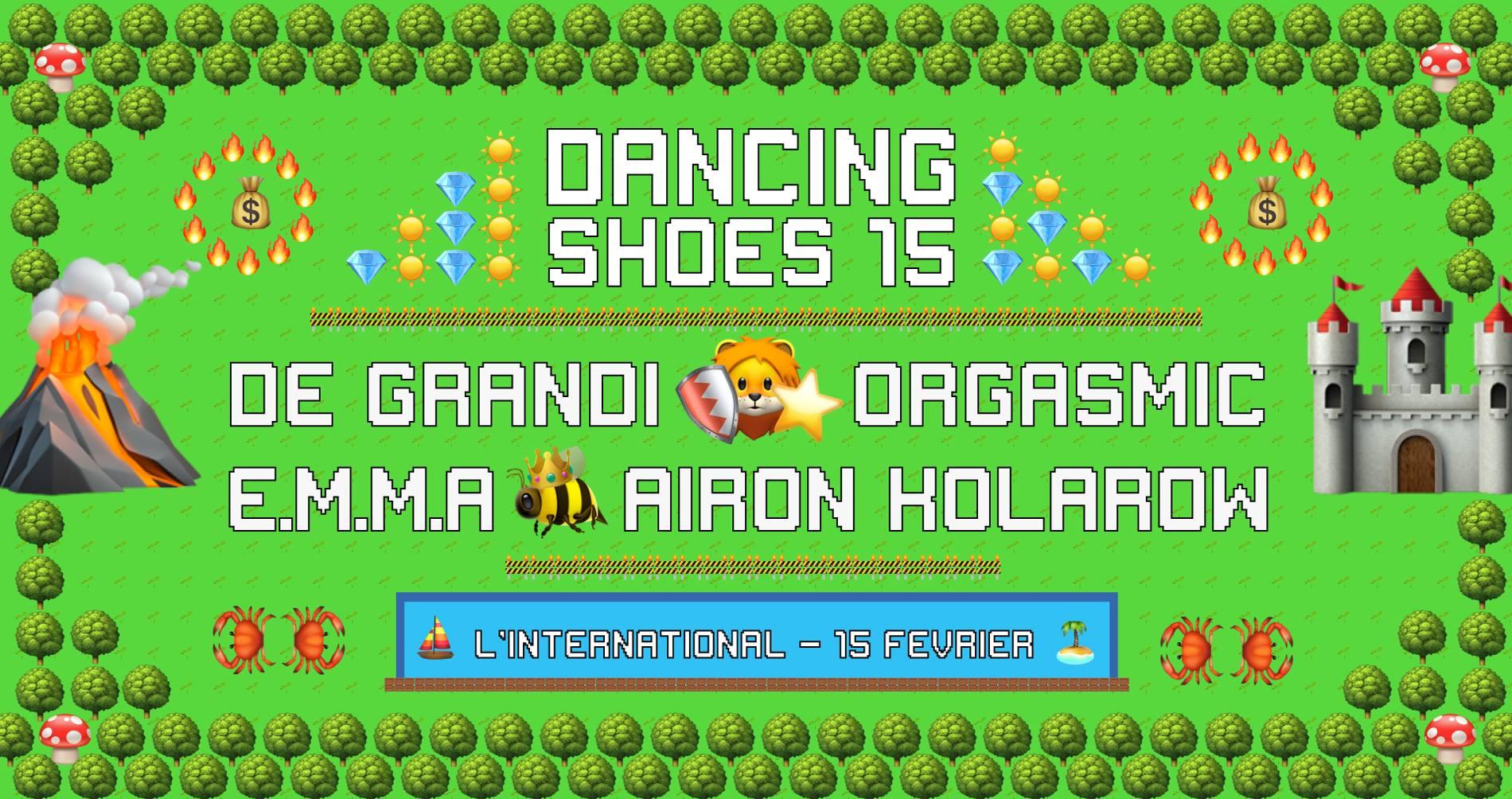 dancing shoes orgasmic de grandi emma airon kolarow couvre x chefs