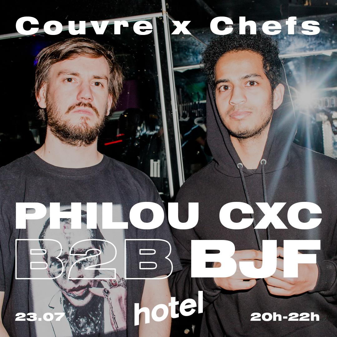 philou cxc bjf hotel radio paris couvre x chefs