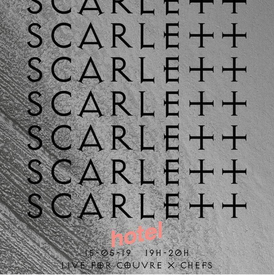 scarlett hotel radio paris couvre x chefs