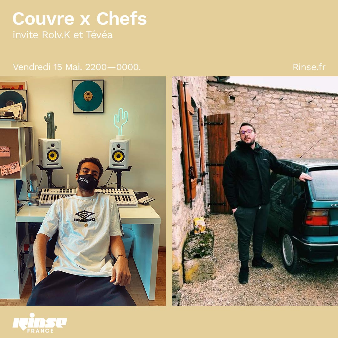 rinse france rolv.k tevea couvre x chefs