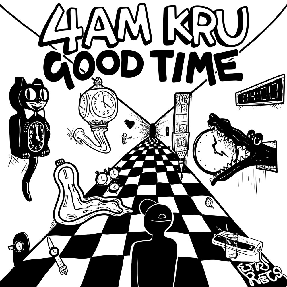 4am Kru Good Time Couvre x Chefs